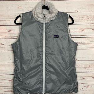 Patagonia Full Zip Reversible Vest Sz L